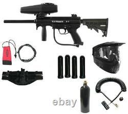 Tippmann A5 Extreme Sniper Paintball Rifle Gun Pack Tactique New Army Kit Nouveau