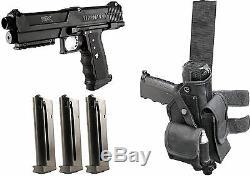 Tipx Deluxe Paintball Pistolet Kit Pistolet Tpx 3 Mags Clips Véritable Tippmann Withholster