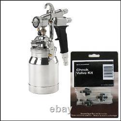Titan 0524041 Capspray Maxum II Hvlp Pistolet De Pulvérisation Avec Kit De Valve De Contrôle Gratuit