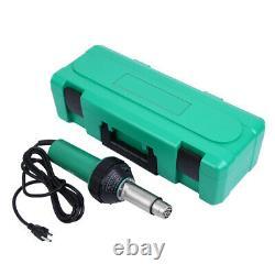 Torche De Soudage À Air Chaud 1600w Pistolet À Chaleur Soudeur En Plastique Kits De Soudage Avec 4 Buses
