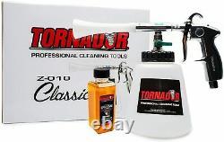 Tornador Z-010 Kit De Démarrage De Pistolet De Nettoyage Avec 2oz. Nettoyeur D'enzymes