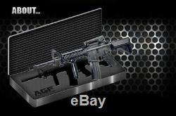 Toy Academy Colt M4a1 Ris Pistolet Électrique Double Hopup 300 4lbs 6xaa 81x24x7cm Ems