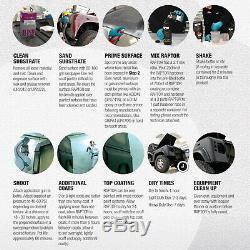 Truck Kit Doublure Raptor Noir Remorque 4l Bateau Pare-chocs De Peinture Automatique Avec Pistolet