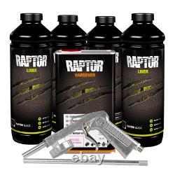 U-pol 820 Raptor Black Spray-on Truck Bed Liner Kit Avec Pistolet (4 Litres)