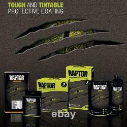 U-pol Raptor Black Urethane Spray-on Truck Bed Liner Kit Withfree Spray Gun