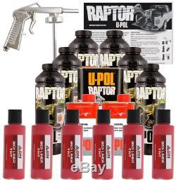 U-pol Raptor - Kit De Doublure De Lit Rouge Pour Canne À Broder, Teintable, 6 Litres Upol