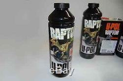 U-pol Raptor Noir Truck Kit + Doublure De Caisse 1 Pistolet