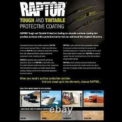 U-pol Raptor Teinter Uréthane Pulvérisation Sur Camion Kit Doublure De Caisse Withspray Gun, 6 Litres