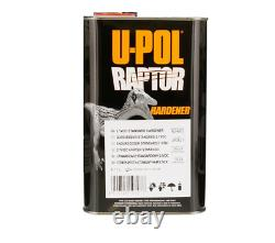 U-pol Raptor Tintable Reflex Blue Bed Liner Kit Avec Pistolet À Vaporisateur, 8l Upol