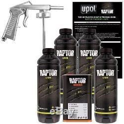 U-pol Raptor Up0821 Tintabl - Kit De Doublure De Lit + 1 Pistolet