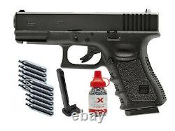 Umarex Glock 19 Gen. 3 Co2 Bb Air Pistol Kit 0.177 Cal 16rd Pistolet Semi-automatique