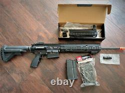 Umarex Hk417dv2 Gbbr 6mm Airsoft Gas Rifle (par Vfc) Rare Avec Kit Dmr