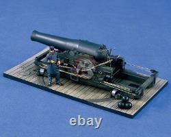 Verlinden 1/35 (54mm) XI Pouces Dahlgren Naval Gun Shell Avec La Figure 1422