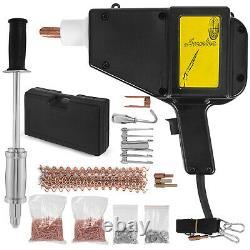 Vevor Stud Welder Puller Dent Kit De Réparation Stud Gun Us Deluxe Dent Pulper