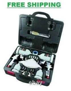 Voiture Automobile Peint Peintre Air Spray Gun Kit Husky Hvlp Standard Gravity Feed