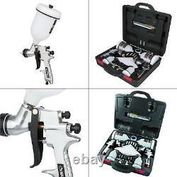 Voiture Automobile Peinture Peintre Air Pistolet Kit Husky Hvlp Gravity Standard Rss