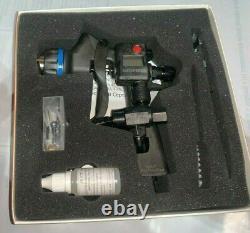 Walcom Carbonio Geo 1.2 Clear Gun Avec Jauge Numérique, Régulateur, Kit De Réparation
