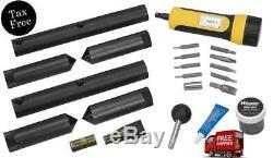 Wheeler Scope Kit De Montage Combo 1 / 30mm Anneau Outil De Réparation Pistolet De Rodage Brand New