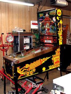 Williams Pinball Machine Guns Big Stencil Kit