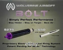 Wolverine Airsoft Bolt Hpa Sniper Rifle Kit De Conversion