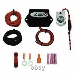 Zex Rapid Fire Machine Gun Nitrous Purge Kit Avec Blue Led Zex82370b